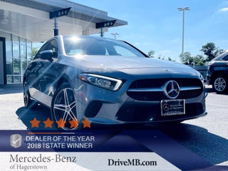 2019 Mercedes-Benz A 220 4MATIC® Sedan Frederick MD